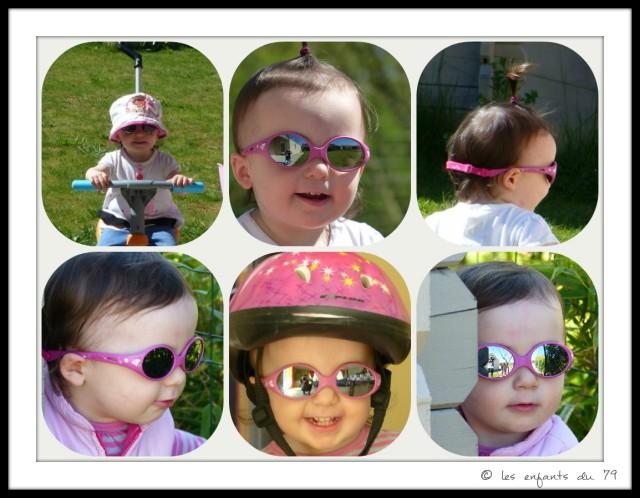 lunettes solaires luc et  léa