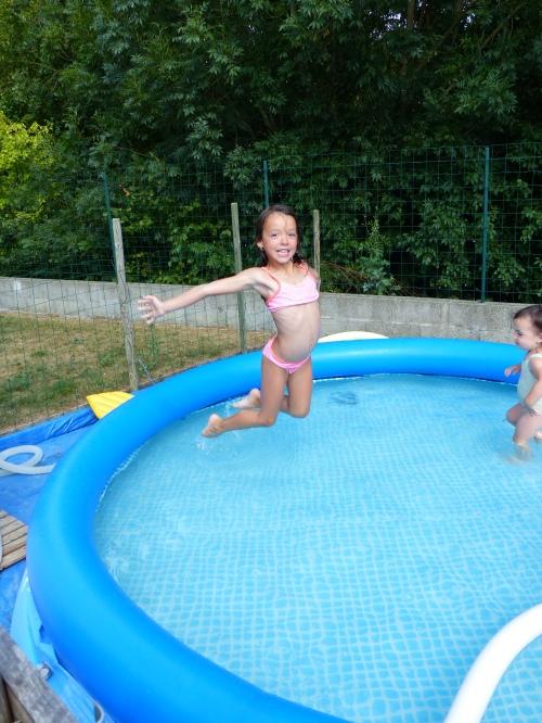 saut de l'ange piscine led79