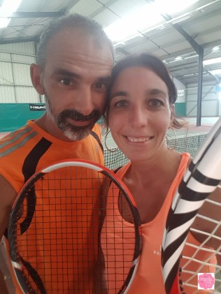 Tennis en amoureux