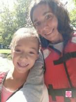 Kayak avec Titi