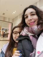 Shopping avec Thalia